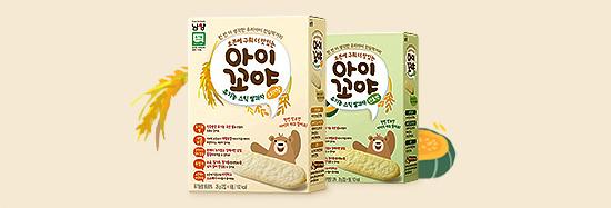 아이꼬야 유기농 스틱 쌀과자 25% 쿠폰할인 이미지